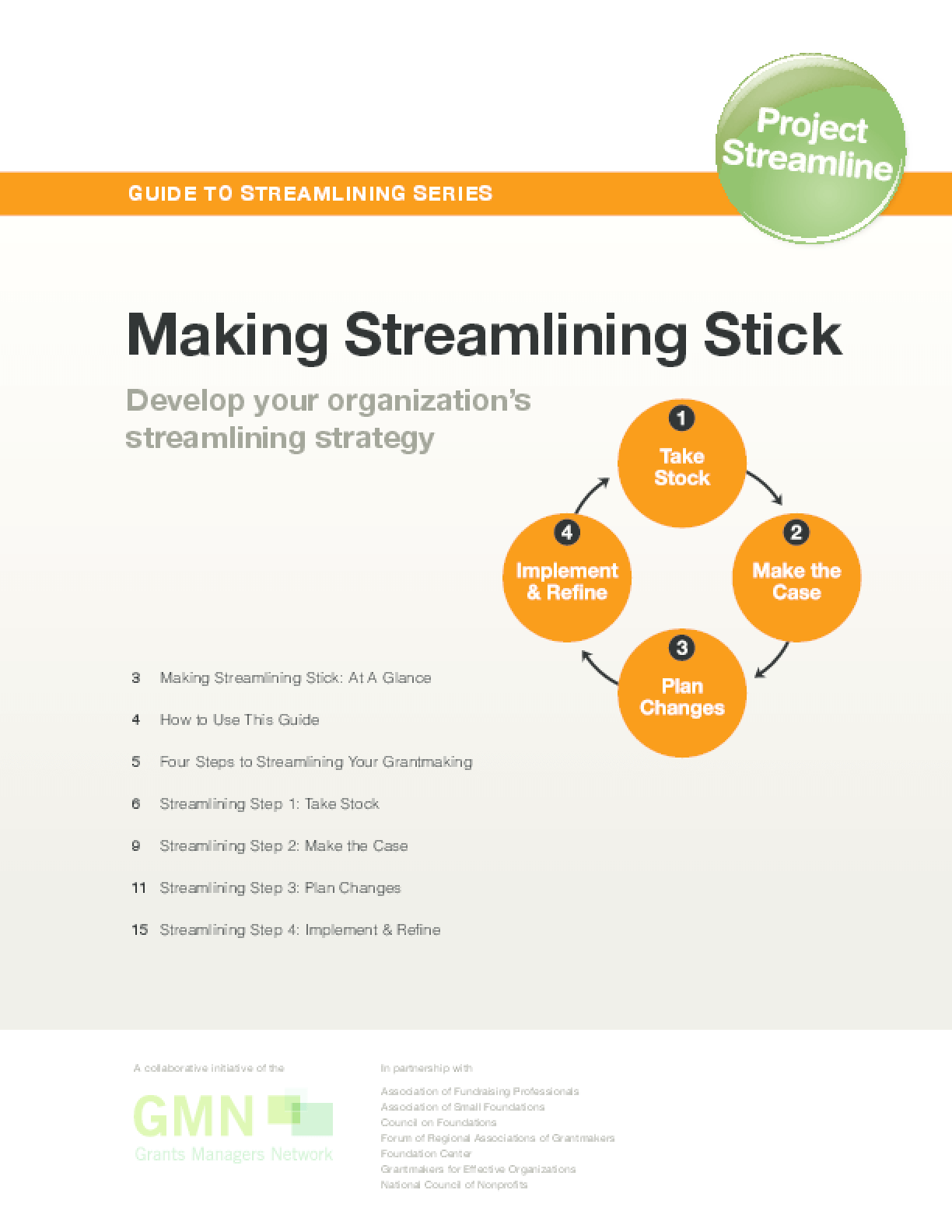 Guide to Streamlining Series: Making Streamlining Stick