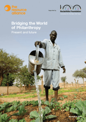 Bridging the World of Philanthropy: Present and Future
