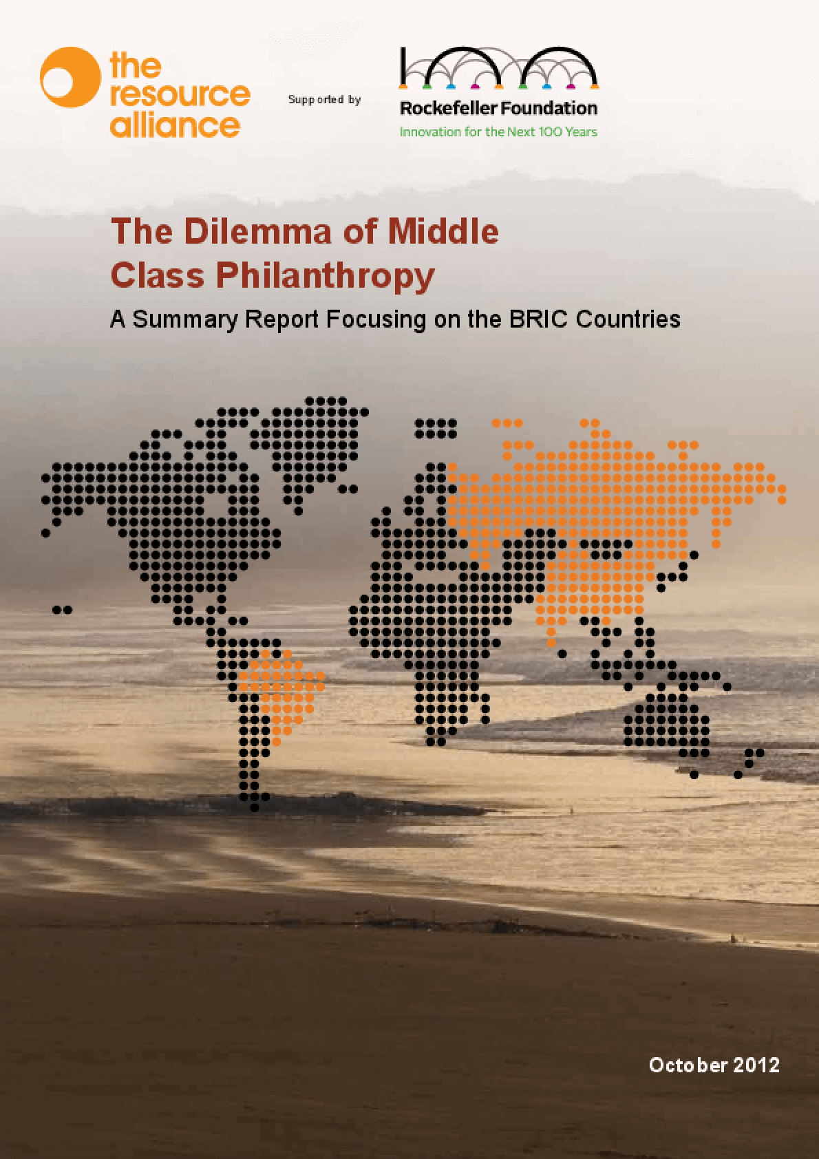 The Dilemma of Middle Class Philanthropy: A Summary Report Focusing on the BRIC Countries