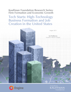 Tech Starts: High-Technology Business Formation and Job Creation in the United States
