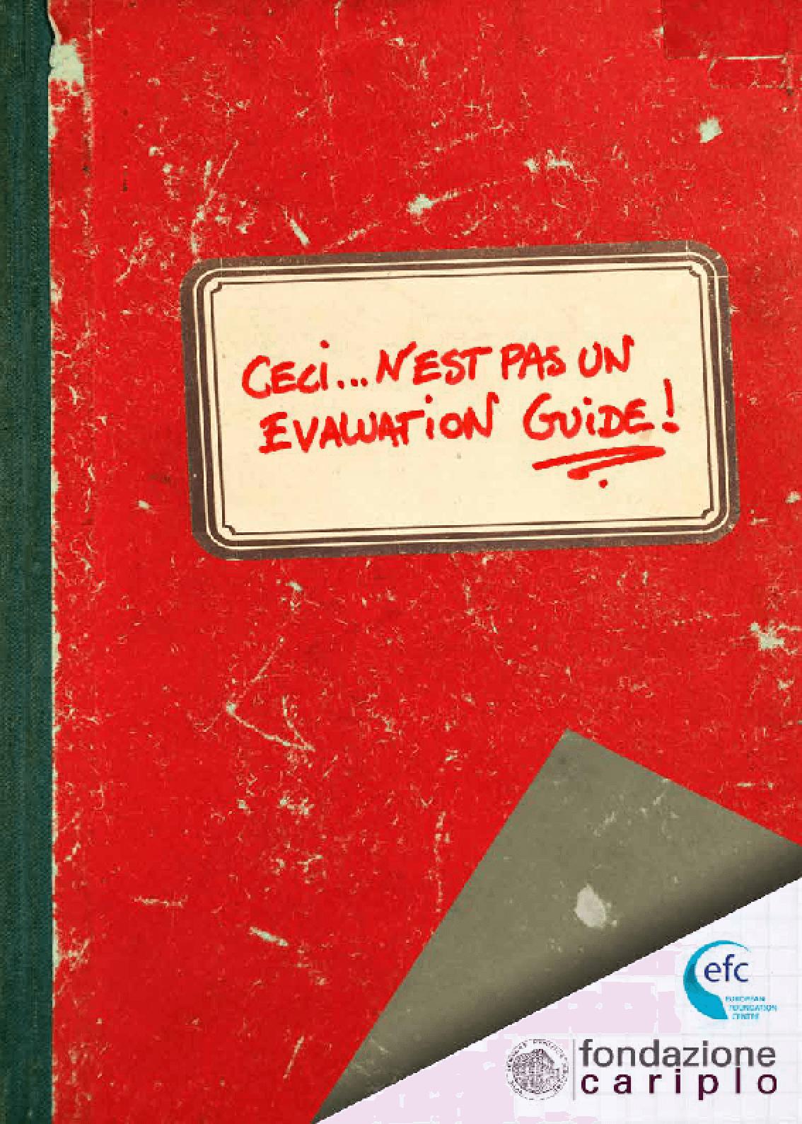 Ceci n'est pas un evaluation guide!