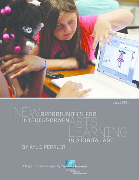 New Opportunities for Interest-Driven Arts Learning in a Digital Age