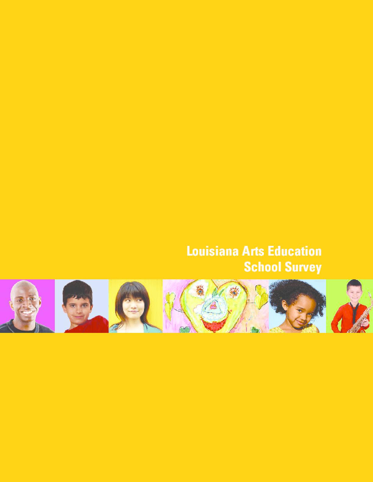 Louisiana Arts Education School Survey