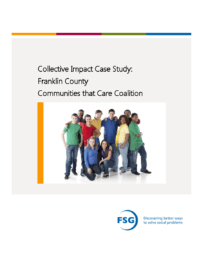 Collective Impact Case Study: Franklin County Communities that Care Coalition