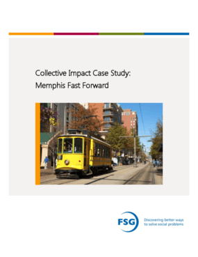 Collective Impact Case Study: Memphis Fast Forward