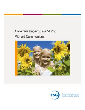 Collective Impact Case Study: Vibrant Communities