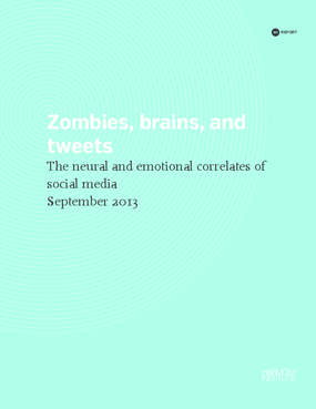Zombies, Brains, and Tweets: the Neural and Emotional Correlates of Social Media