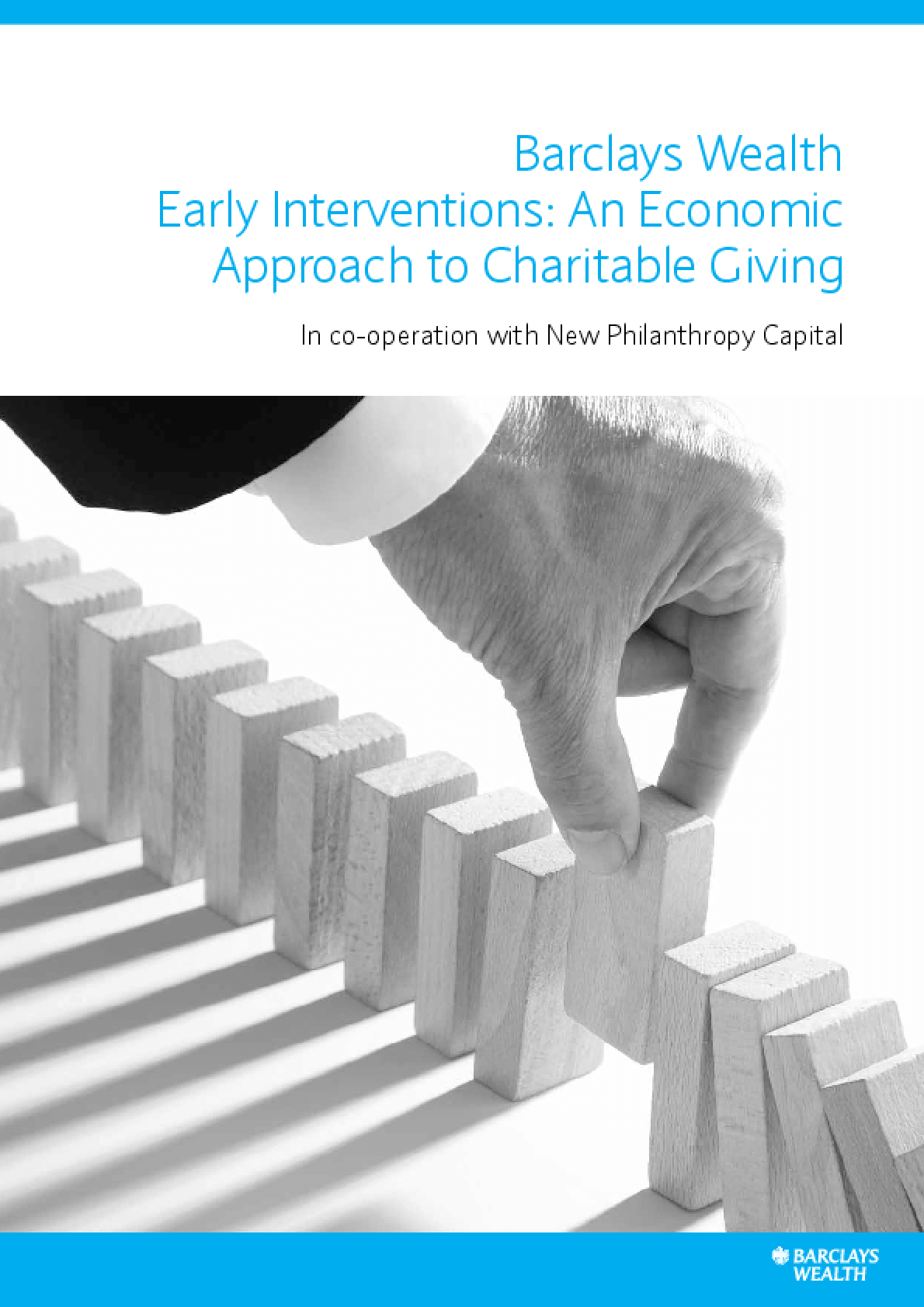 Early Interventions: An Economic Approach to Charitable Giving