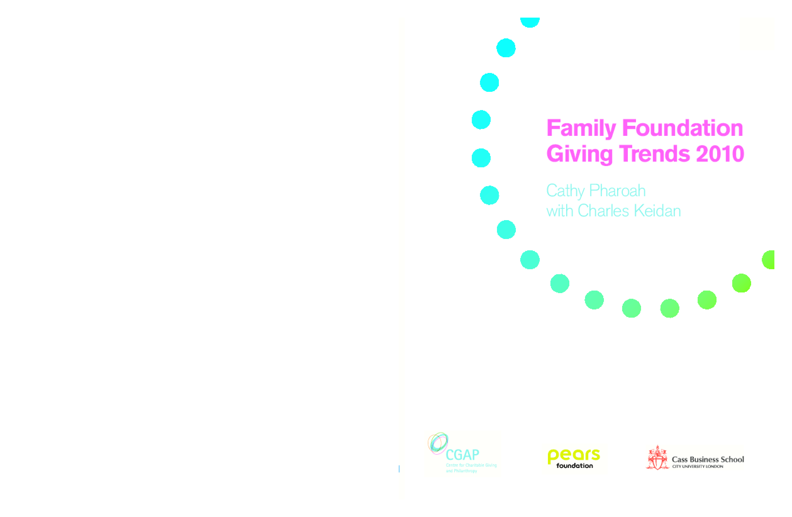 Family Foundation Giving Trends 2010