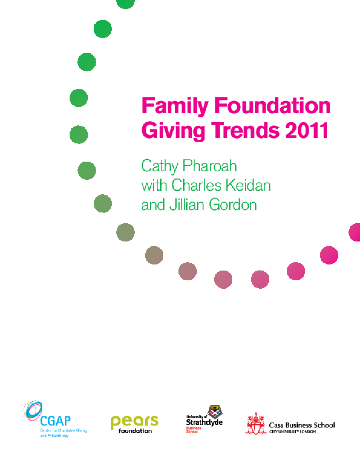 Family Foundation Giving Trends 2011