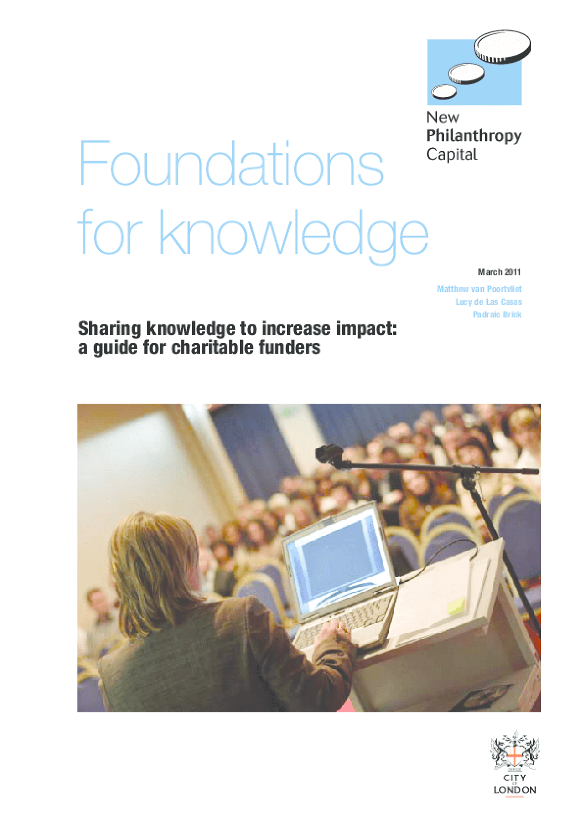 Foundations for Knowledge: Sharing Knowledge to Increase Impact
