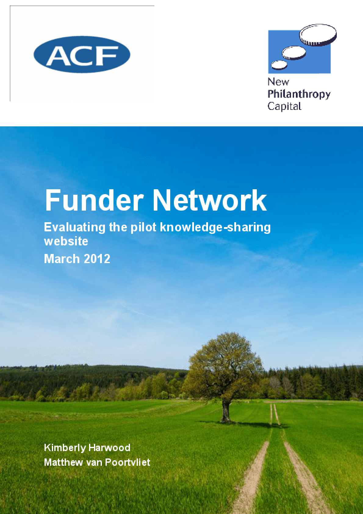 Funder Network: Evaluating the Pilot Knowledge-Sharing Website