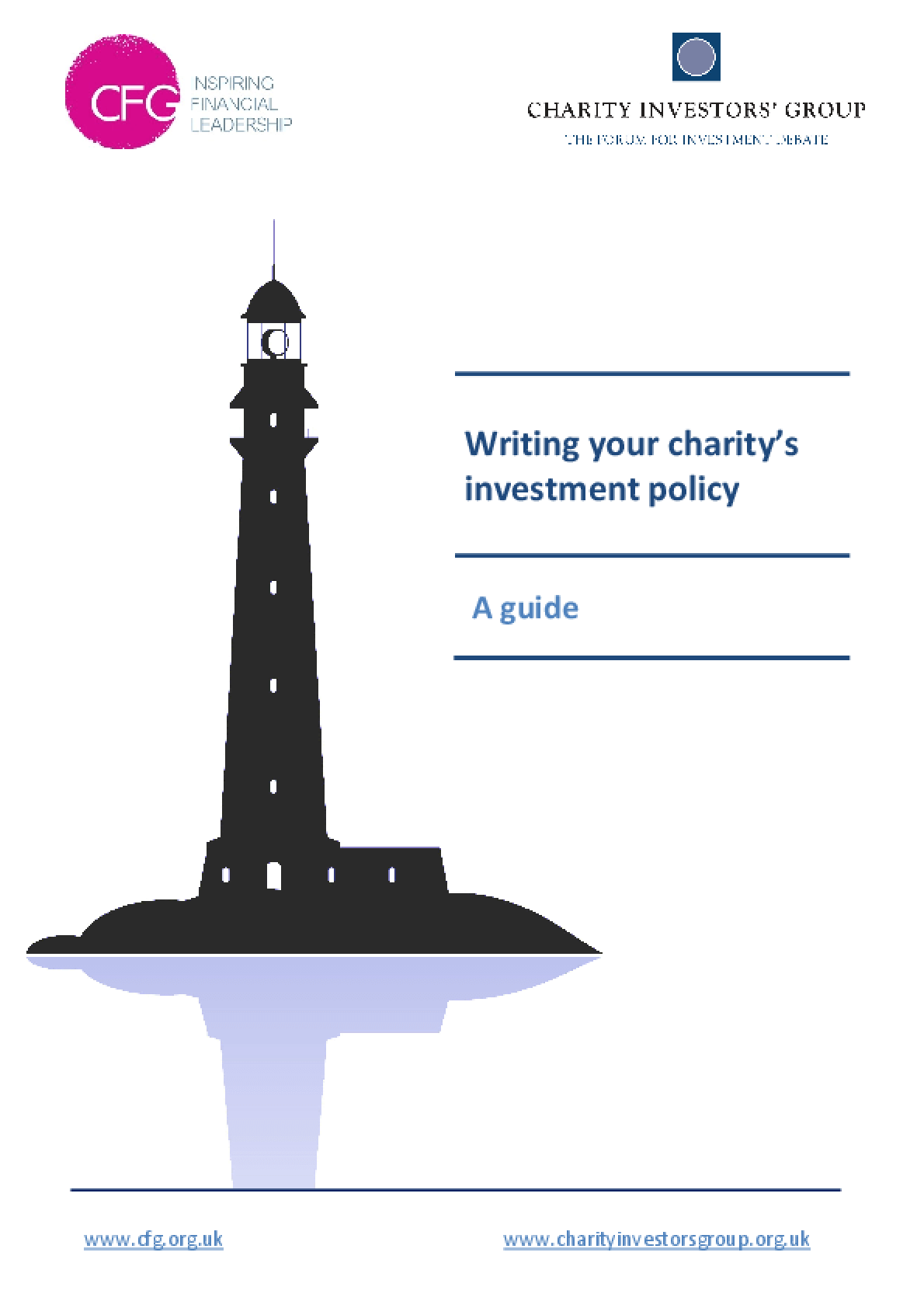 Writing Your Charity's Investment Policy: A Guide