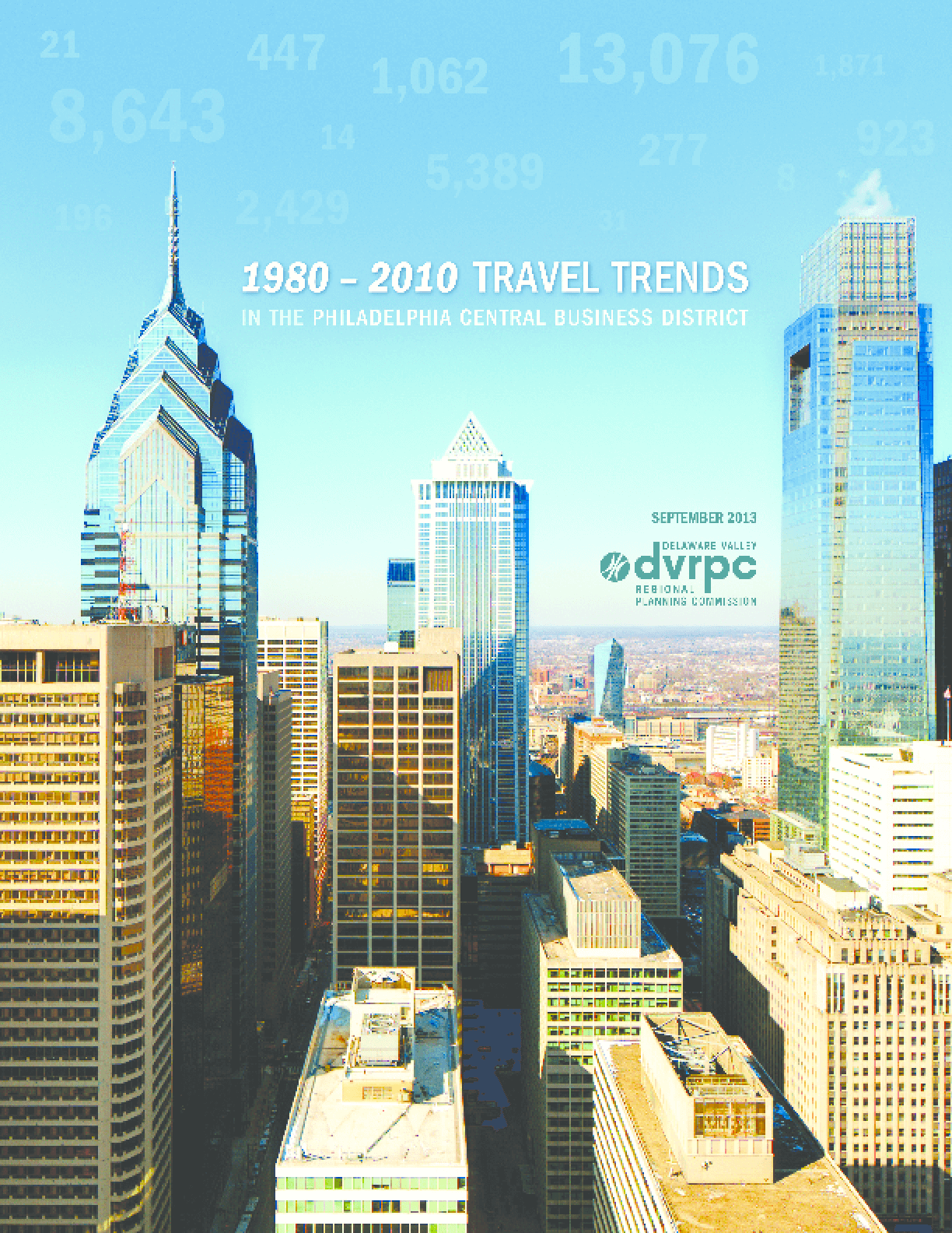 1980-2010 Travel Trends In The Philadelphia Central Business District