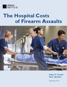The Hospital Costs of Firearm Assaults