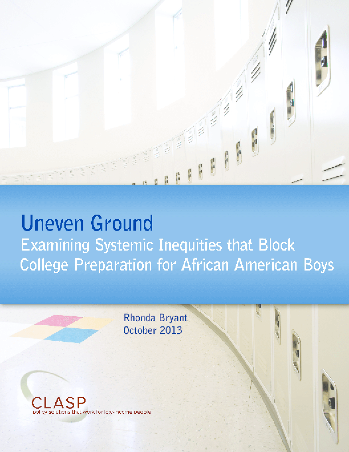 Uneven Ground: Examining Systemic Inequities that Block College Preparation for African American Boys