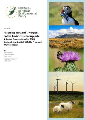 Assessing Scotland's Progress on the Environmental Agenda