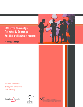 Effective Knowledge Transfer and Exchange For Nonprofit Organizations: A Framework