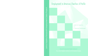 Employment in America's Charities: A Profile