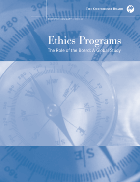 Ethics Programs: The Role of the Board: A Global Study: Executive Summary