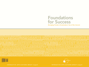Foundations For Success: Emerging Trends in Grantmakers' Use of Internet
