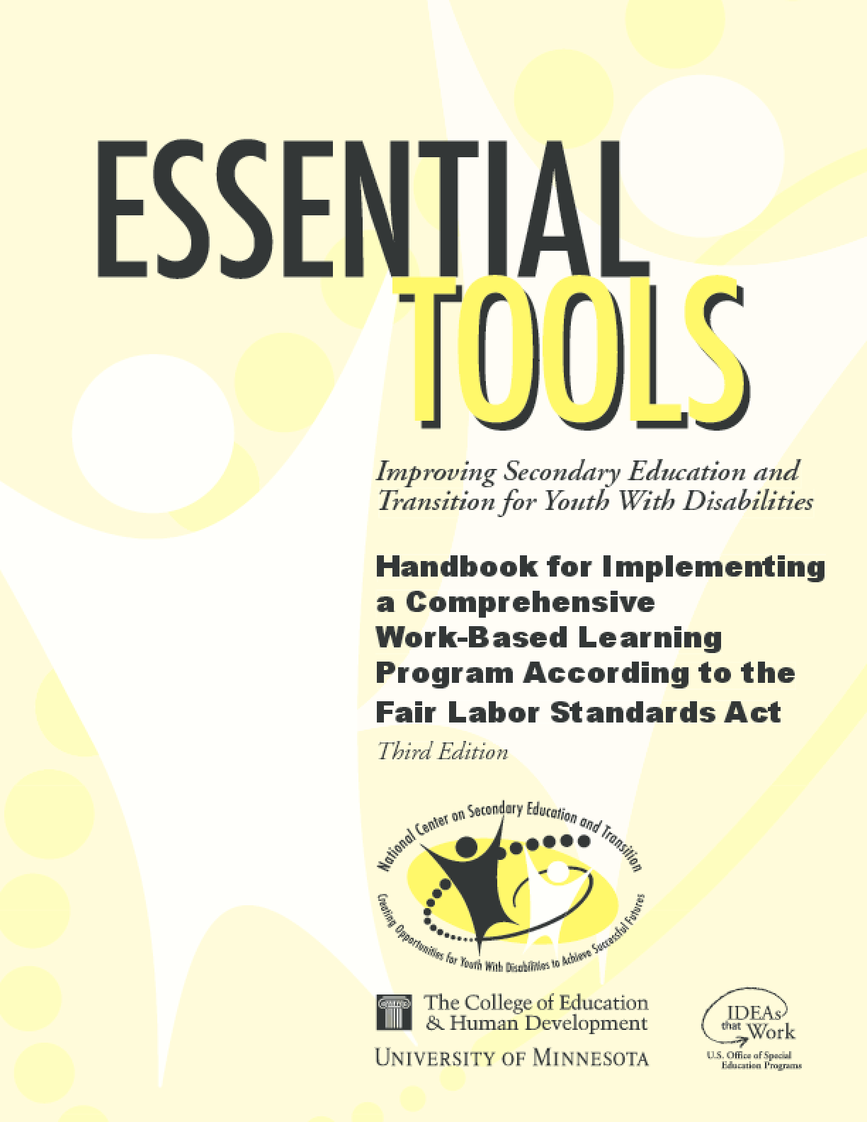 Handbook for Implementing a Comprehensive Work-Based Learning Program According to the Fair Labor Standards Act