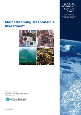 Mainstreaming Responsible Investment