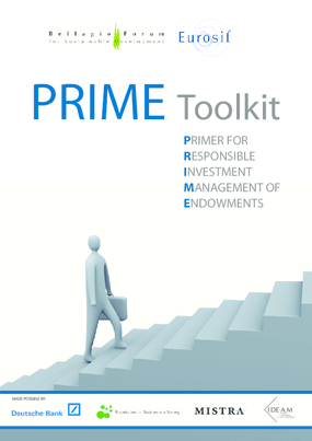 PRIME Toolkit: Primer For Responsible Investment Management of Endowments