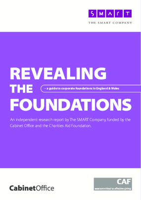 Revealing the Foundations: A Guide to Corporate Foundations in England and Wales