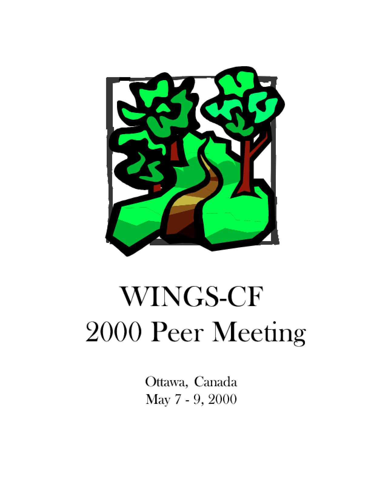 WINGS-CF 2000 Peer Meeting