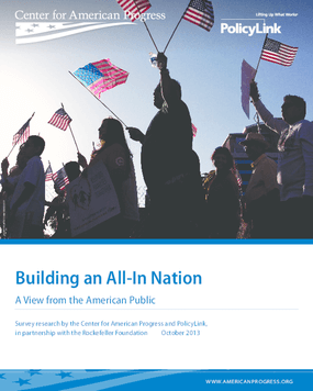 Building an All-In Nation: A View from the American Public