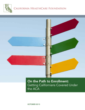 On the Path to Enrollment: Getting Californians Covered Under the ACA