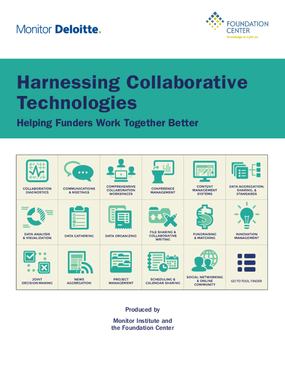Harnessing Collaborative Technologies: Helping Funders Work Together Better