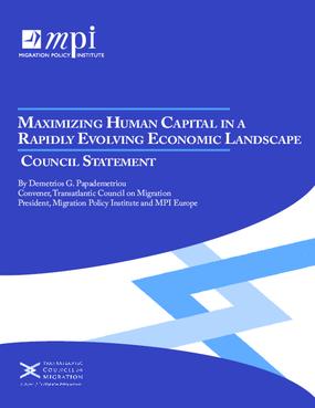 Maximizing Human Capital in a Rapidly Evolving Economic Landscape: Council Statement