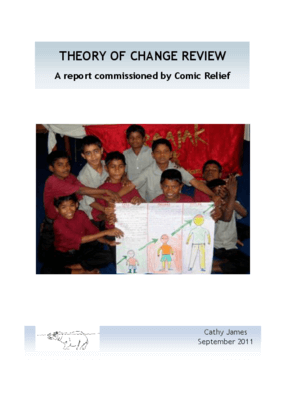 Theory of Change Review: A Report Commissioned by Comic Relief