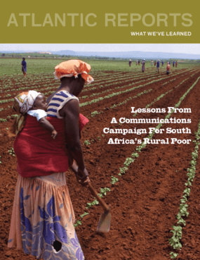 Lessons From A Communications Campaign For South Africa's Rural Poor