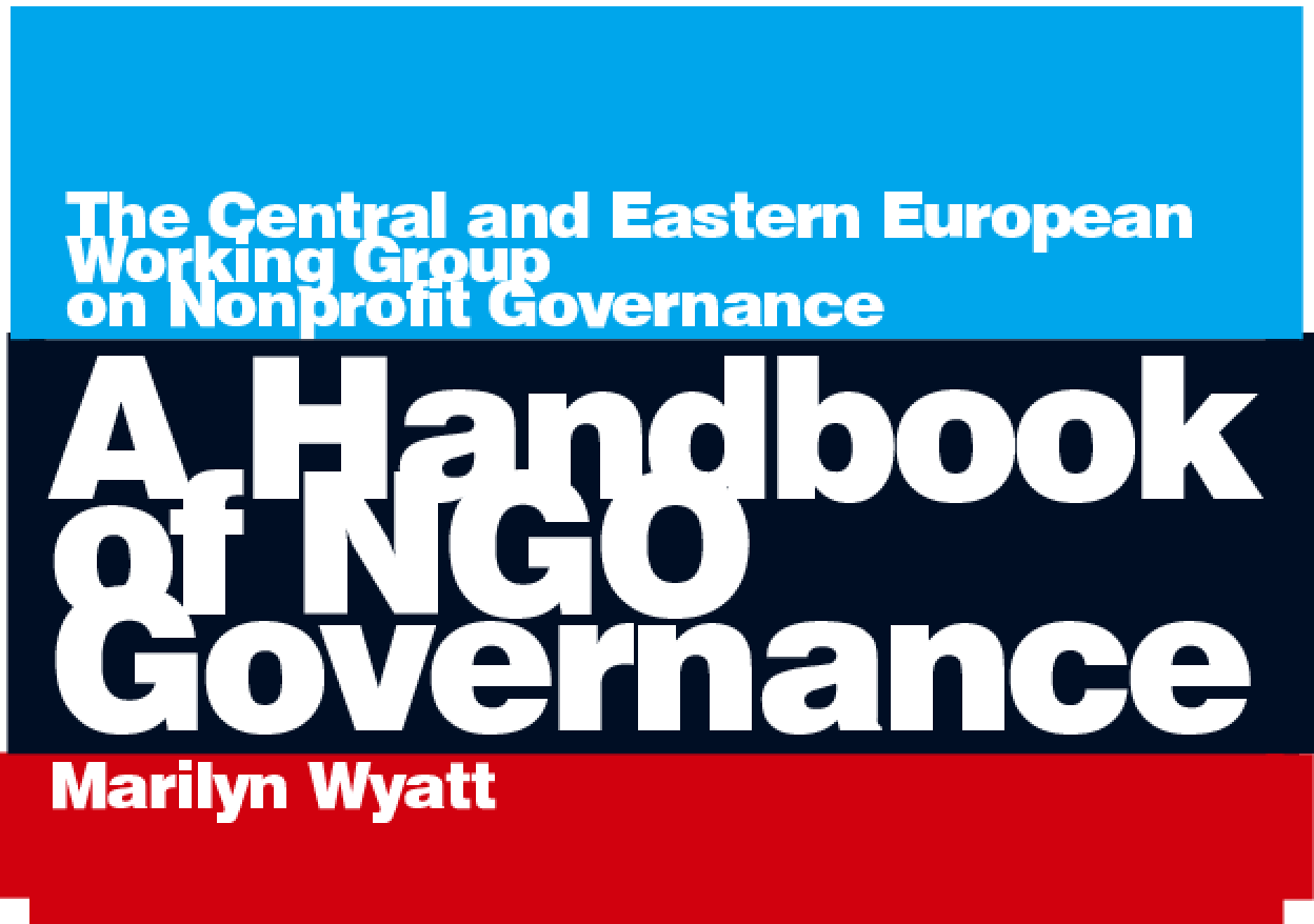 A Handbook of NGO Governance