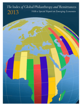 The Index of Global Philanthropy and Remittances: With a Special Report on Emerging Economies