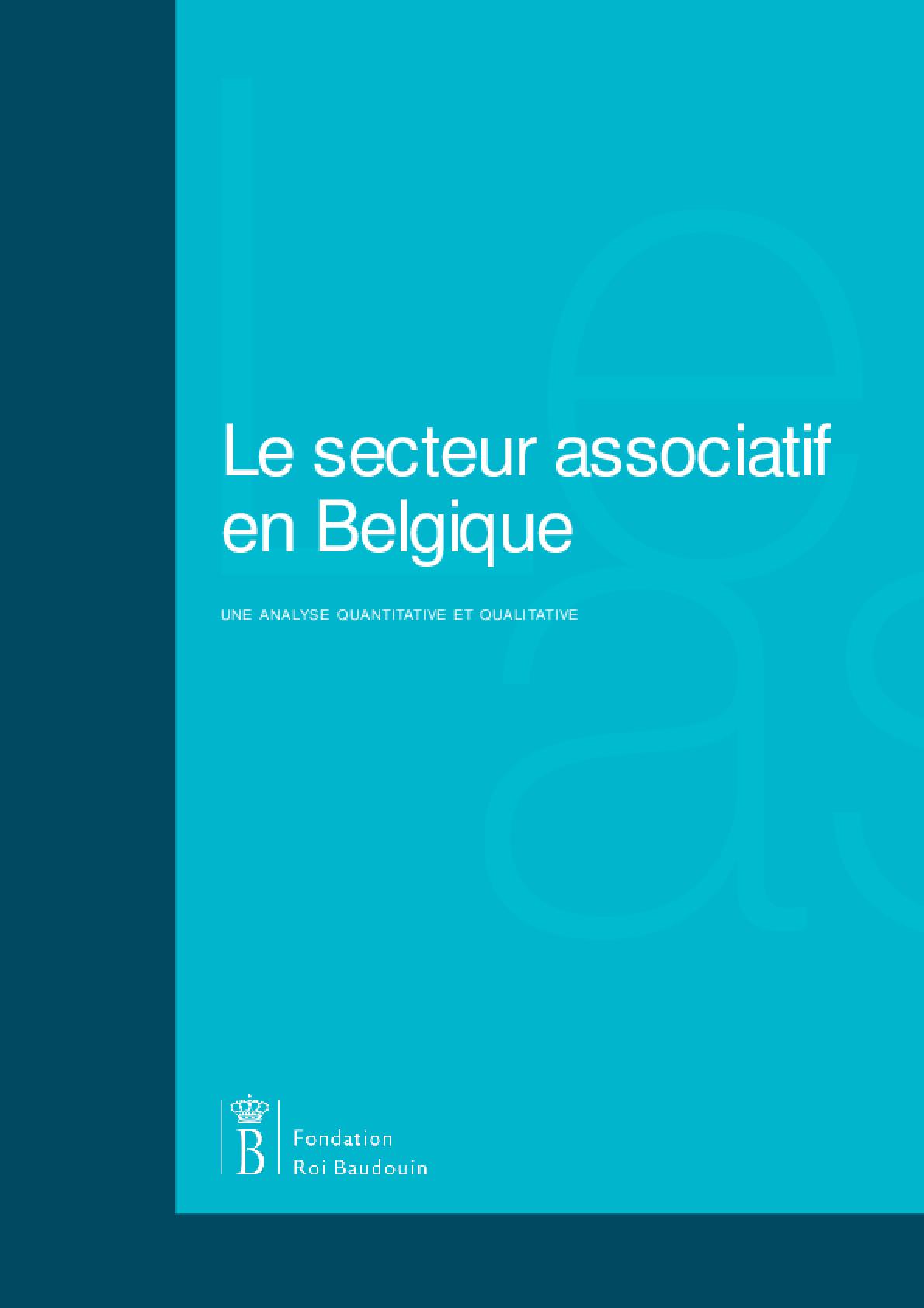 Le Secteur Associatif en Belgique: Une Analyse Quantitative et Qualitative