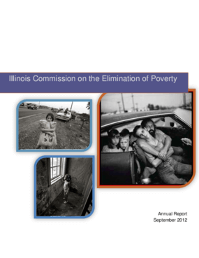 Illinois Commission on the Elimination of Poverty Annual Report 2012