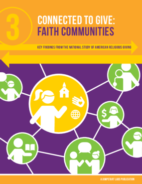 Connected to Give: Faith Communities
