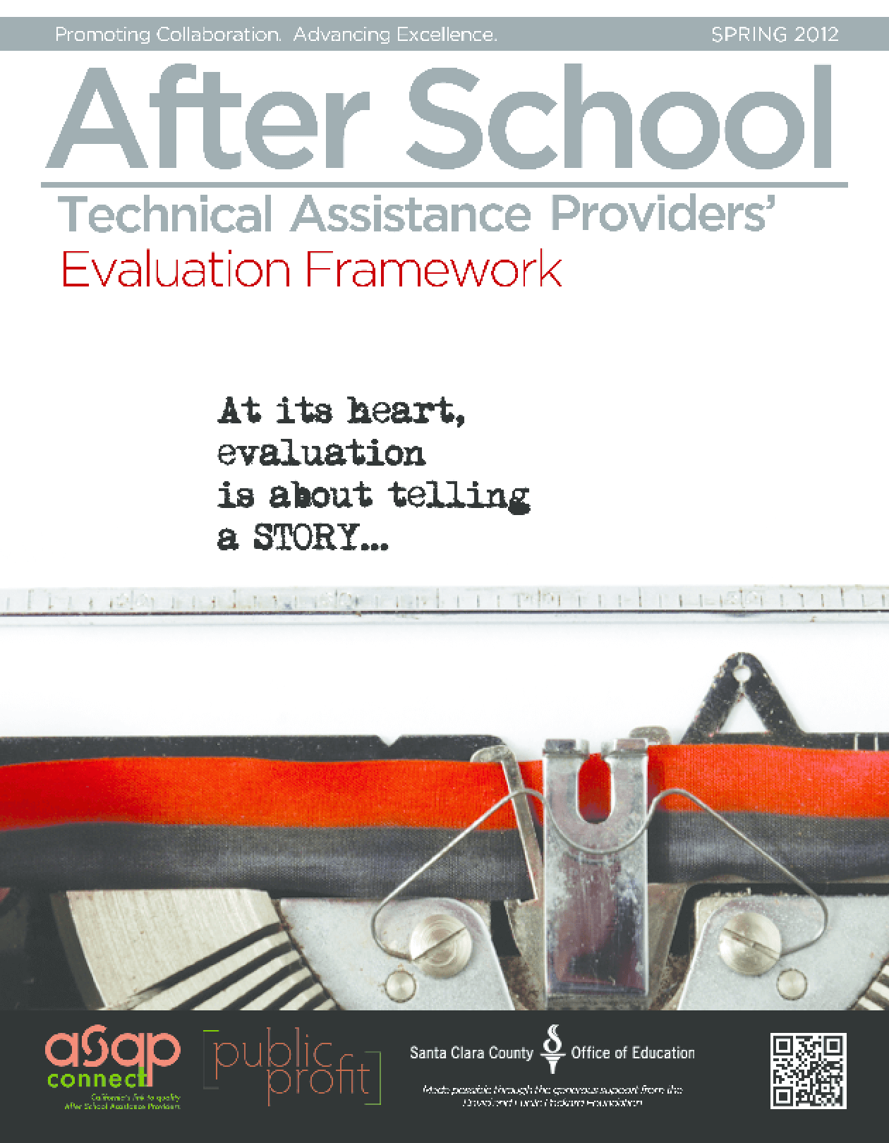 After School Technical Assistance Providers Evaluation Framework