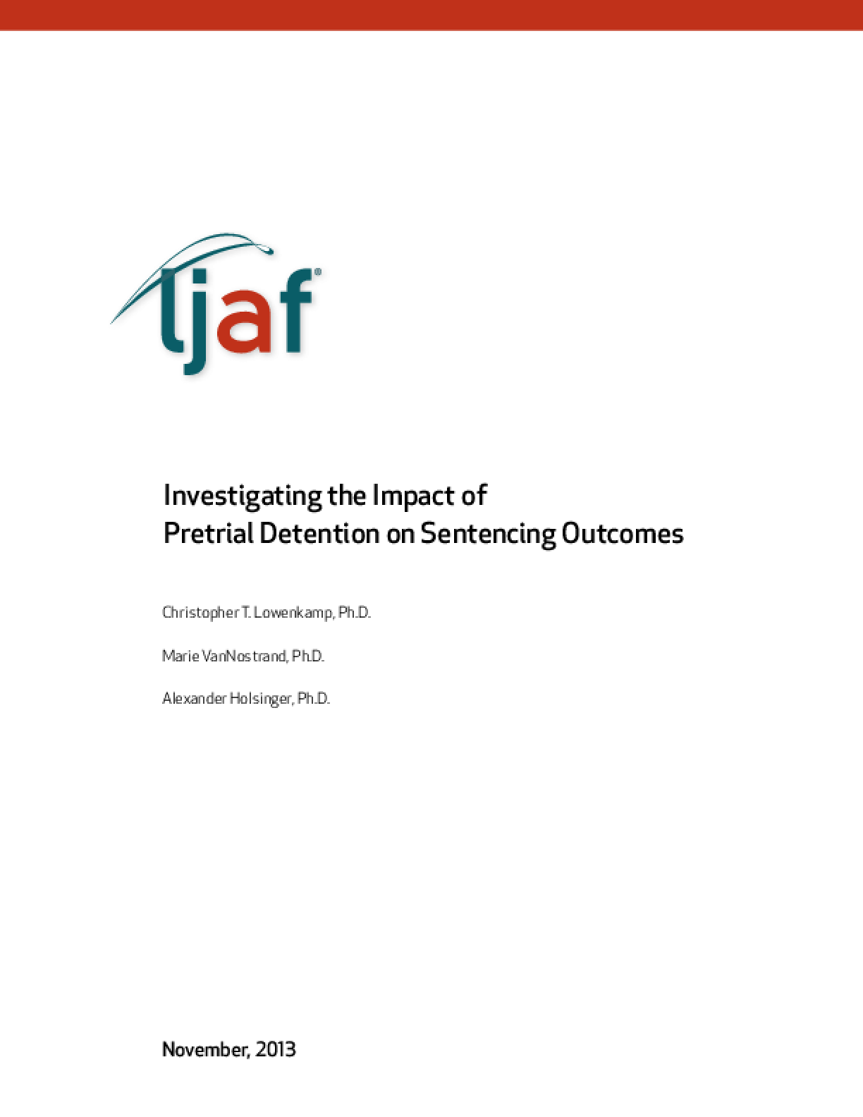 Investigating the Impact of Pretrial Detention on Sentencing Outcomes