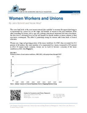 Women Workers and Unions