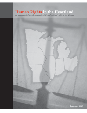 Human Rights in the Heartland: An Assessment of Social, Economic, Civil, and Political Rights in the Midwest