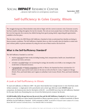 Self-Sufficiency in Coles County, Illinois