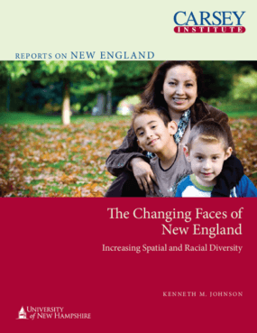 The Changing Faces of New England: Increasing Spatial and Racial Diversity