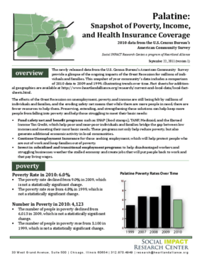 Palatine: Snapshot of Poverty, Income, and Health Insurance Coverage