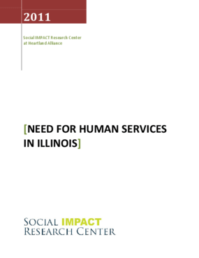 Need for Human Services in Illinois
