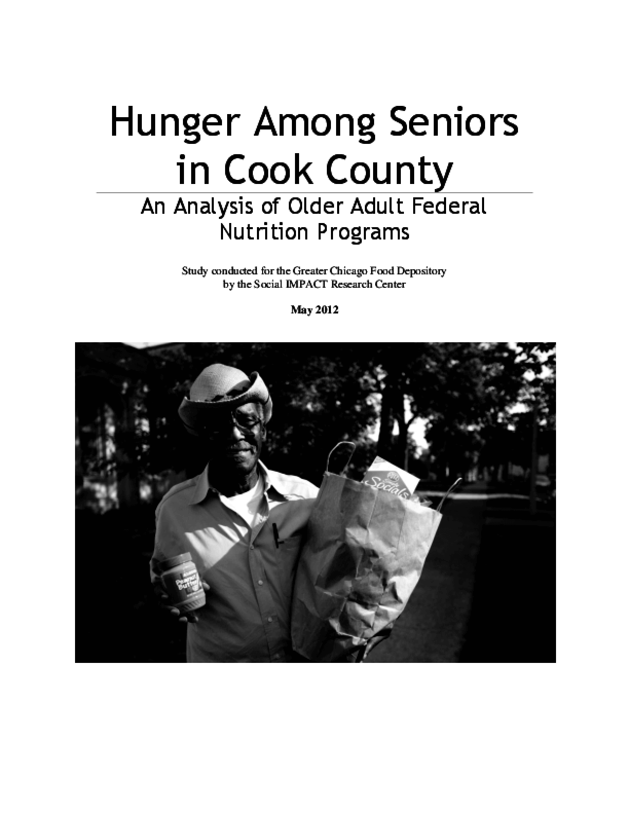 Hunger Among Seniors in Cook County: An Analysis of Older Adult Federal Nutrition Programs